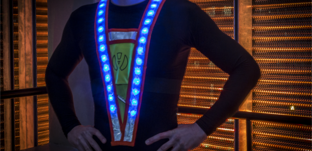 You Saw Me Led Reflective Vest Review And Give Away