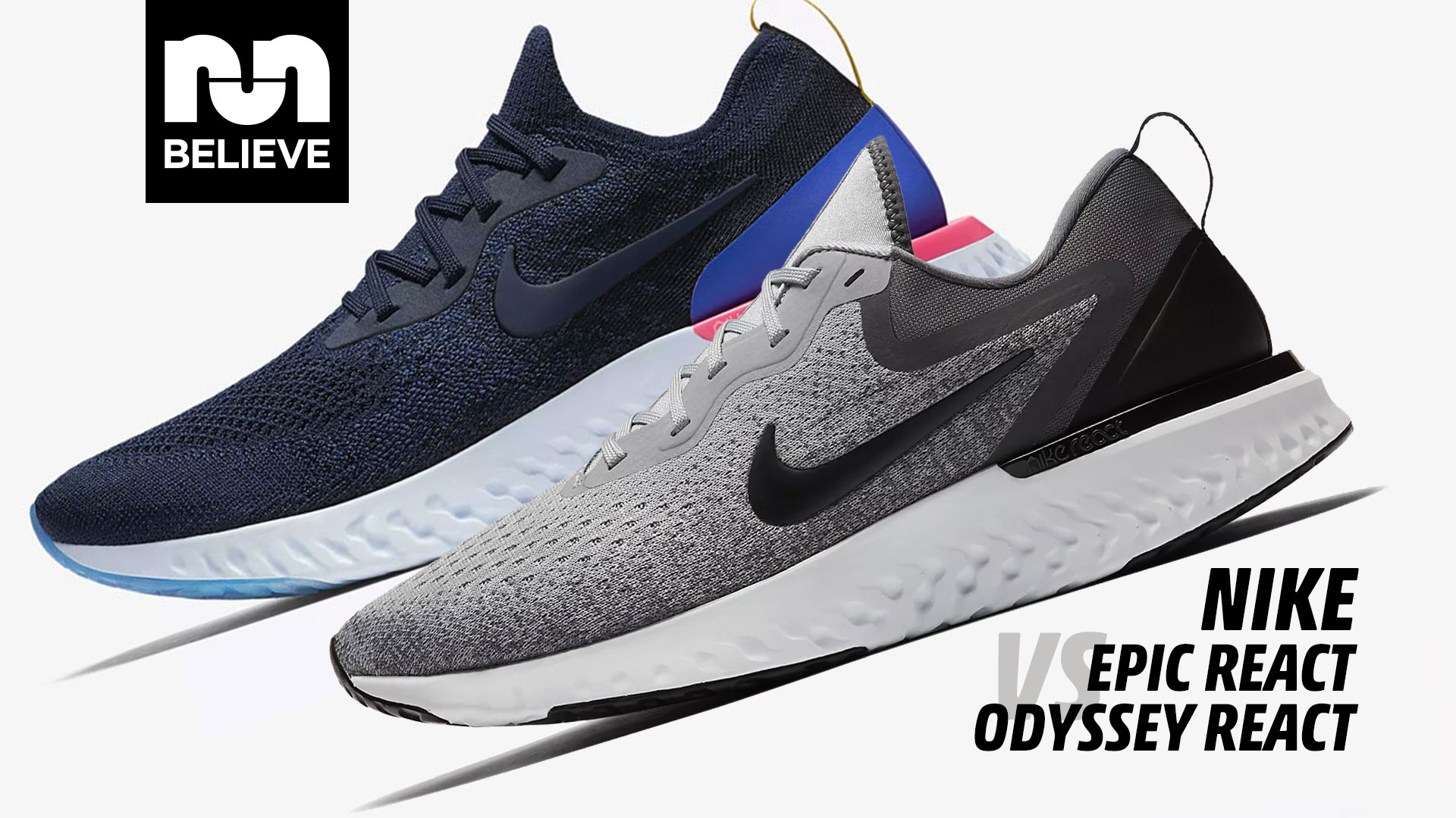 Nike Epic React vs Odyssey React - YouTube