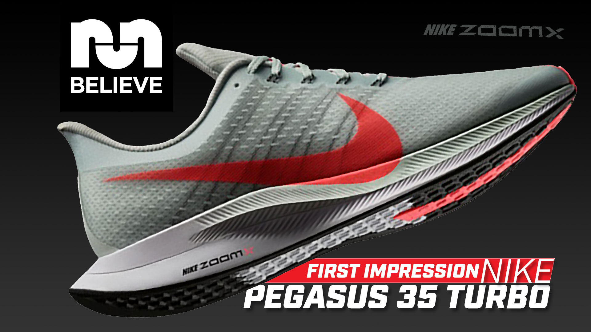 4db6a0a8a First Run in the Nike Pegasus 35 Turbo with Zoom X » Believe in the Run