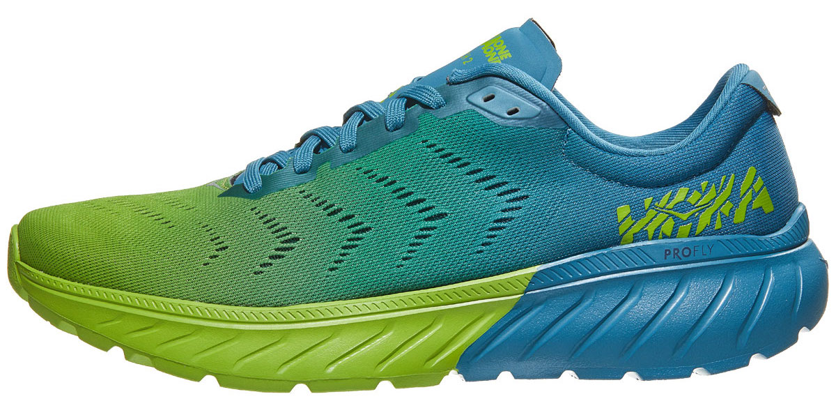 hoka mach 2 side