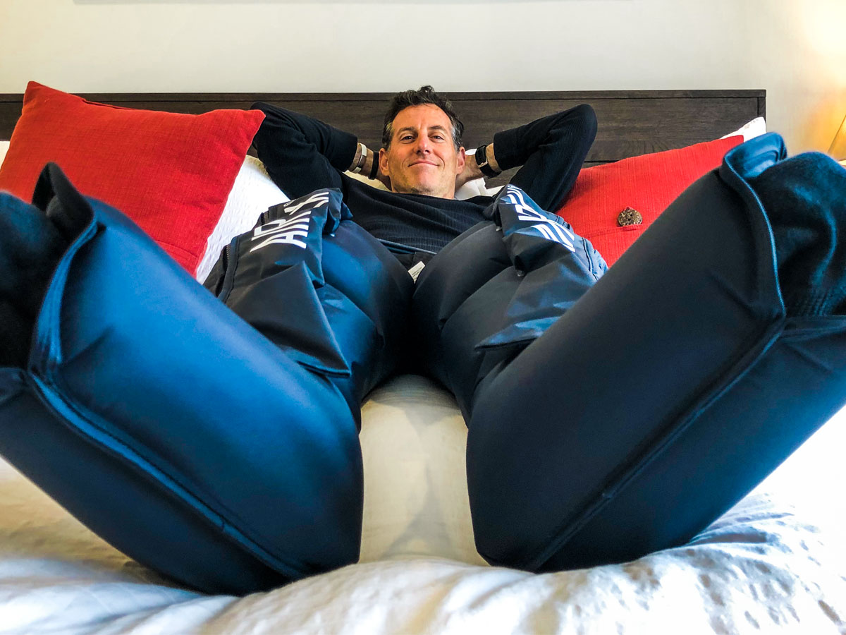 Air Relax Leg Recovery System Review Believe In The Run