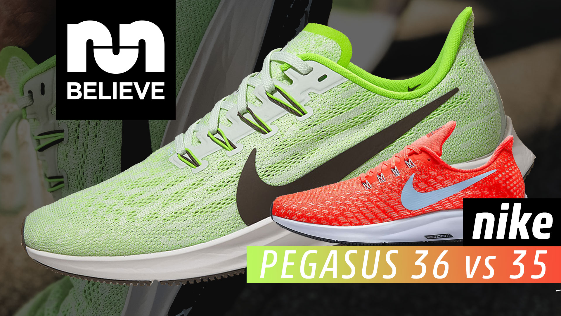 best service 453ff a4578 Nike Pegasus 36 vs Pegasus 35 Comparison Review » Believe in ...
