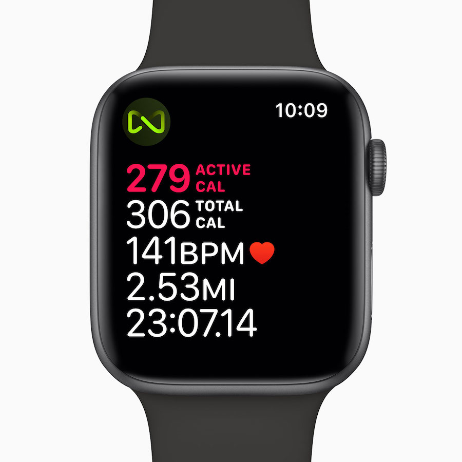 Apple Watch Series 4 display