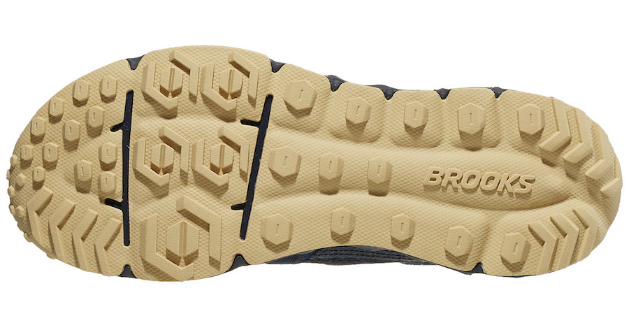 brooks pure grit 8 outsole