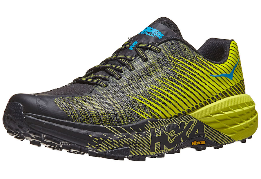 hoka one one evo speedgoat side