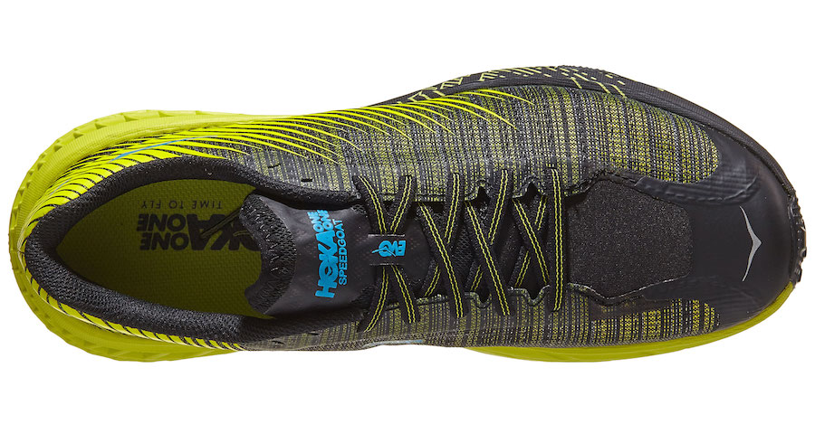 hoka one one evo speedgoat upper