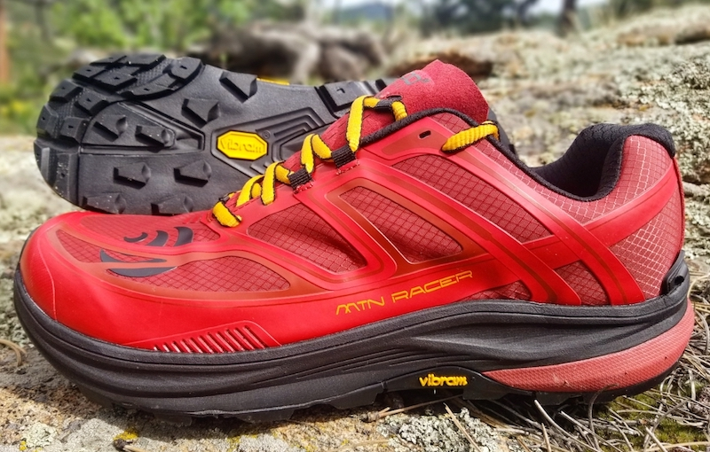 best trail running shoe of 2019 - topo mtn racer