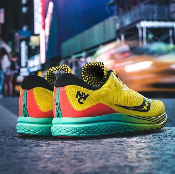 nyc marathon shoe - saucony kinvara 10