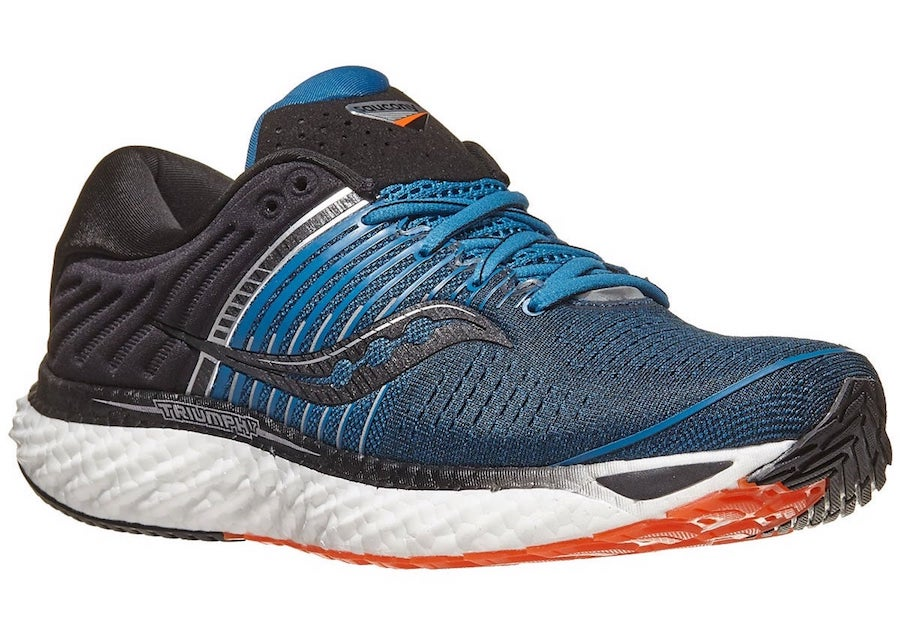 saucony triumph 17 lateral