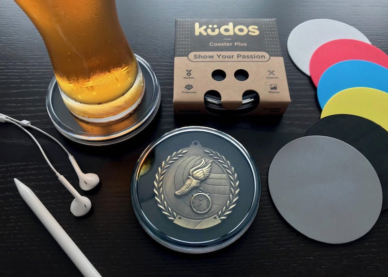 Kudos-Coaster-Black-Desk - 2019 holiday gift guide