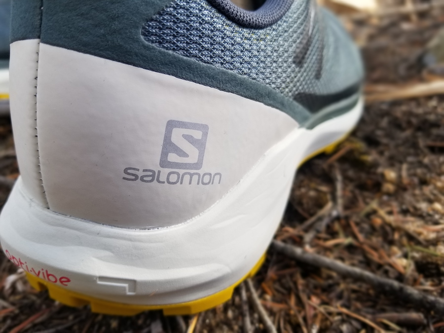 salomon sense ride 3 heel