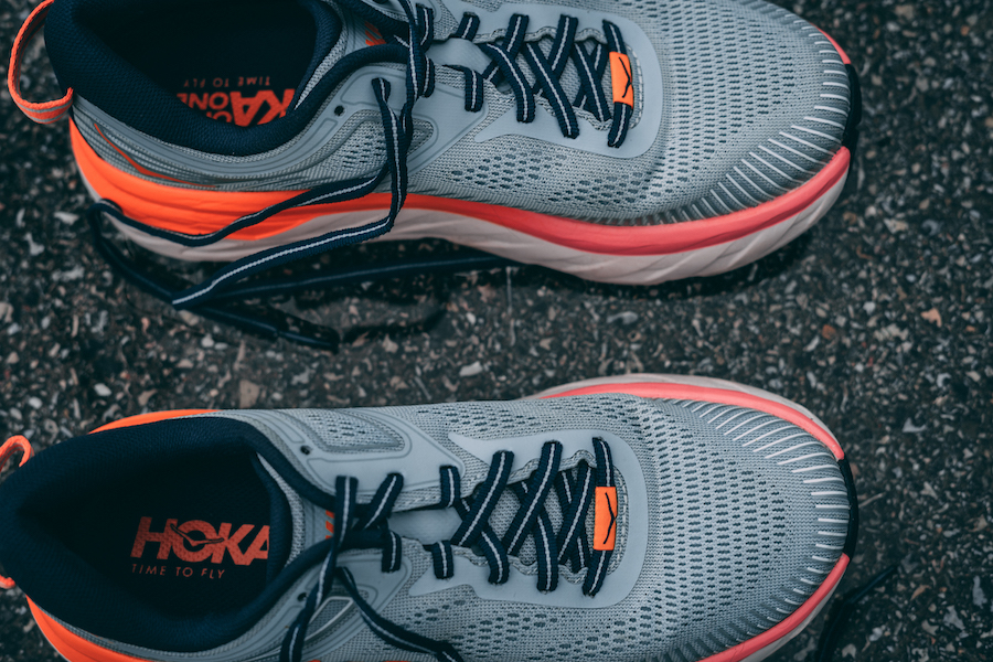 HOKA ONE ONE BONDI 7 - UPPER