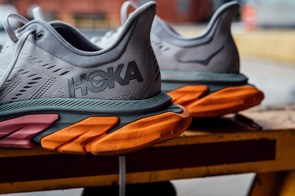 HOKA ONE ONE Clifton Edge heel lateral