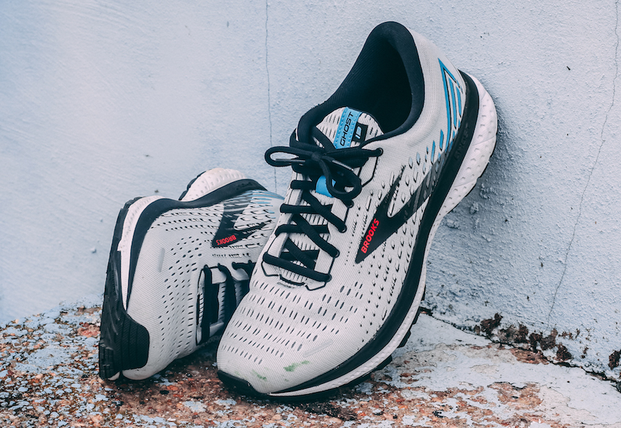brooks ghost 13 - tongue