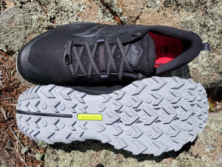 saucony peregrine 10 outsole