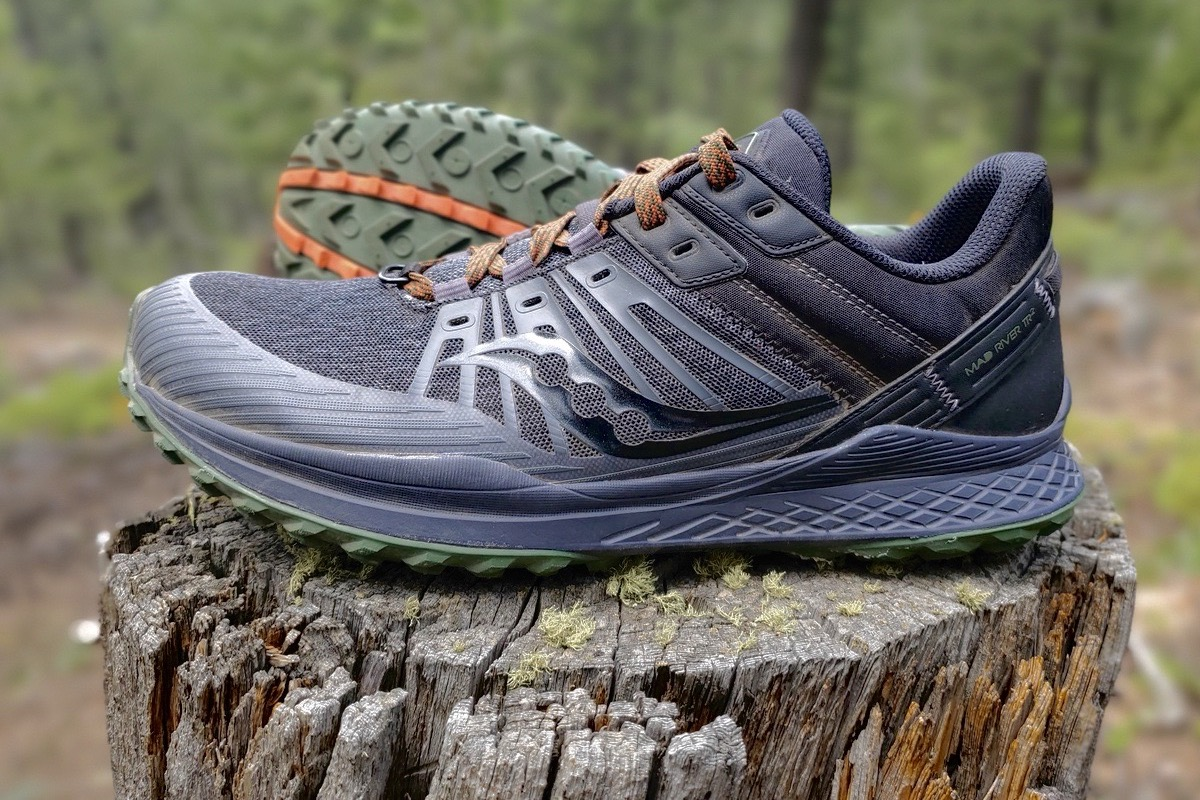 saucony mad river tr 2 - stump