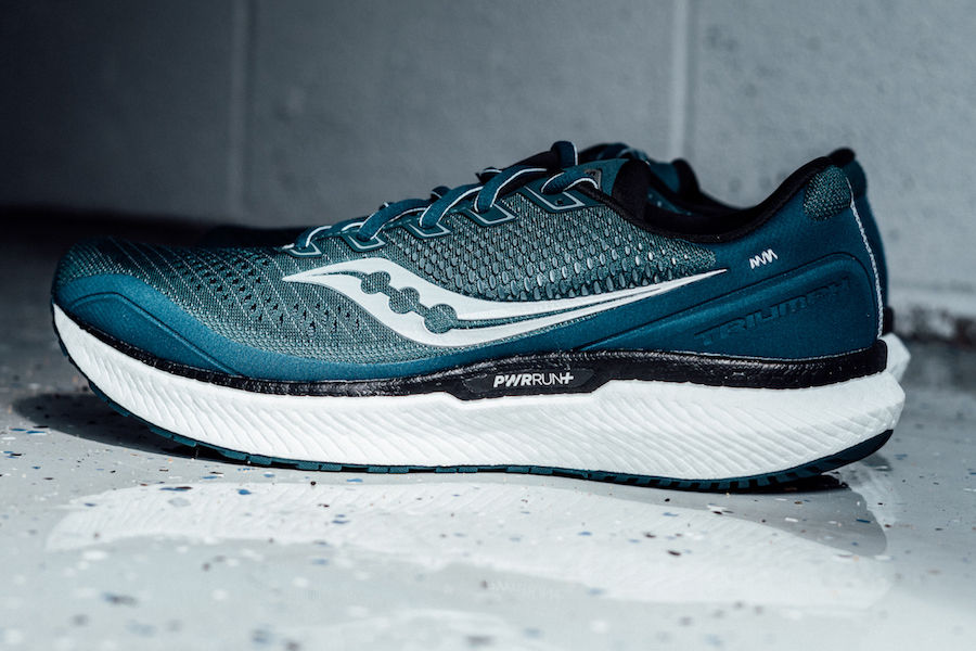 saucony triumph 18 - lateral