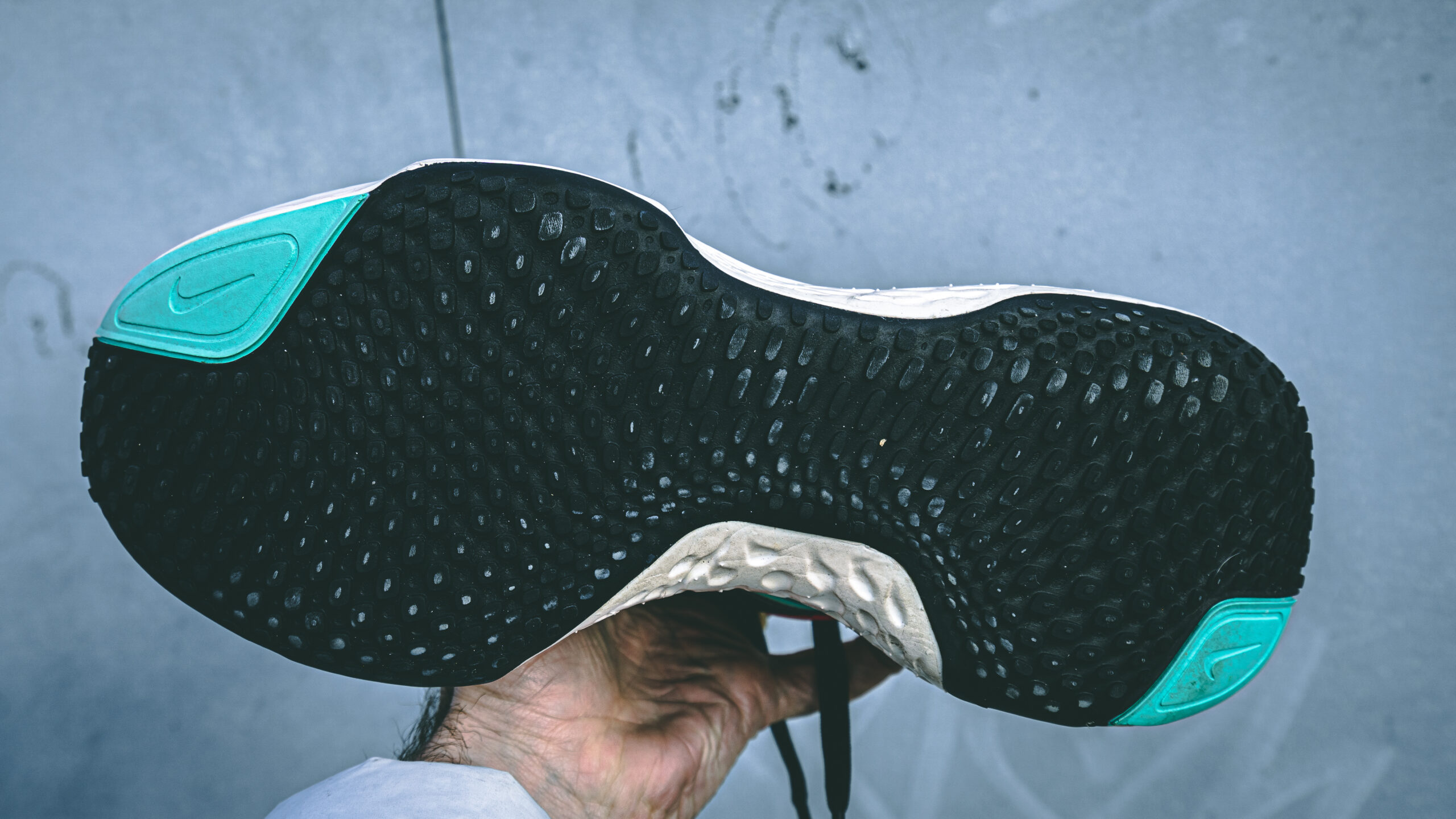 nike zoomx invincible - outsole