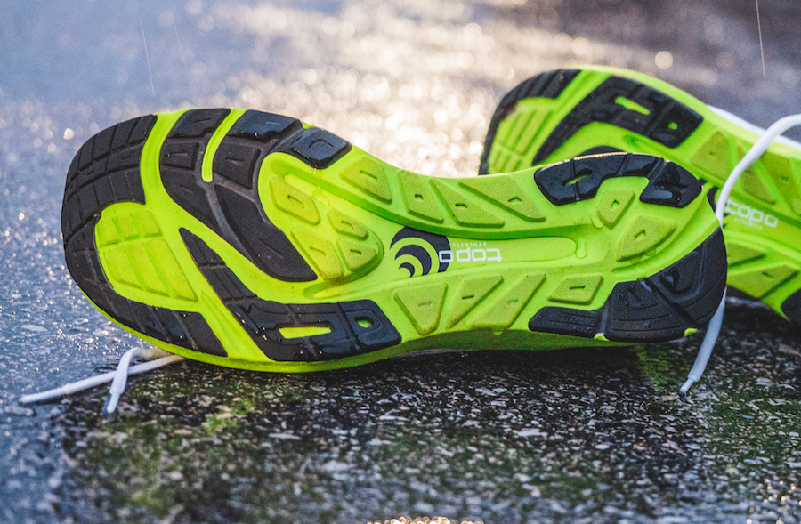 topo athletic cyclone - outsole