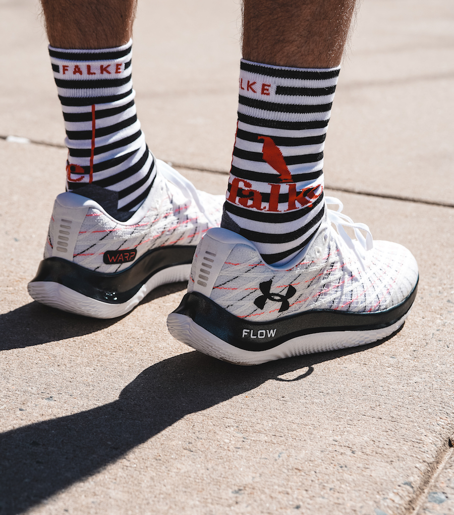 under armour flow velociti wind - heel