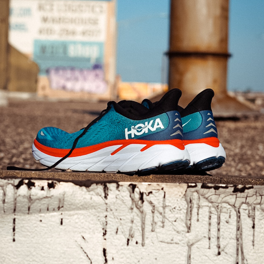 hoka one one clifton 8 - side