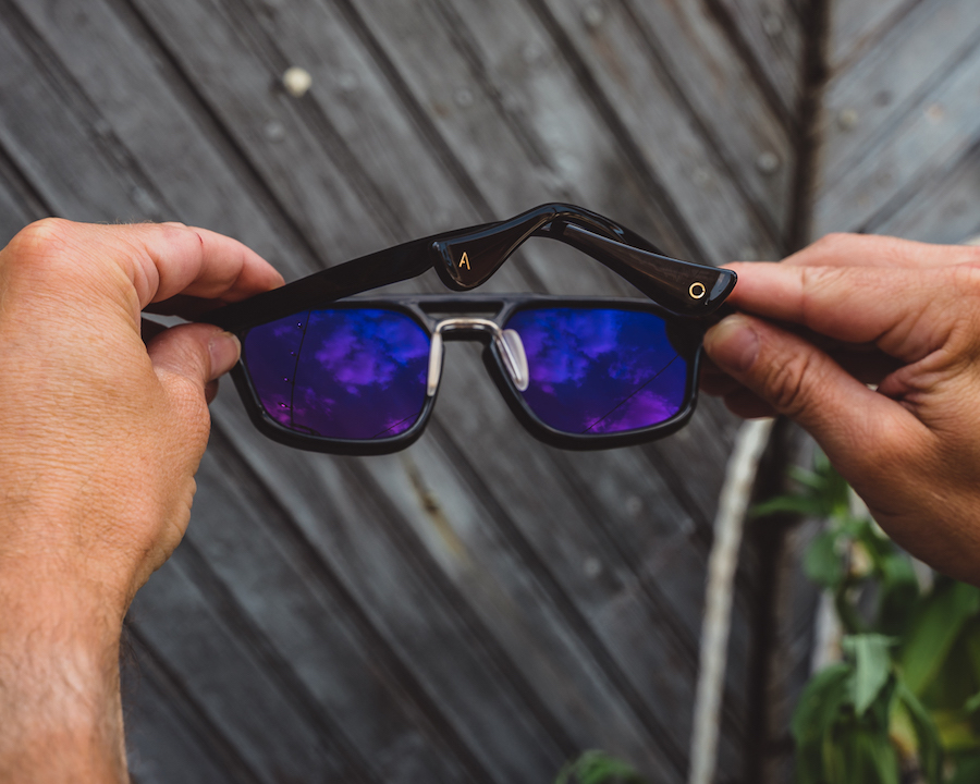 article one sunglasses - nose